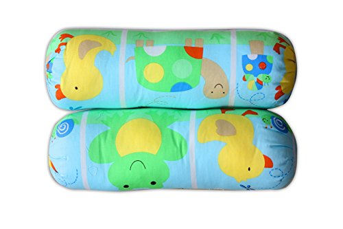 Baby Station Pillow Soft Bolsters Cotton-Color & Design May Vary