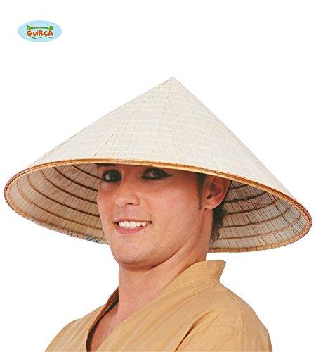 Fiestas Guirca GUI13623 - Vietnamesischer Strohhut