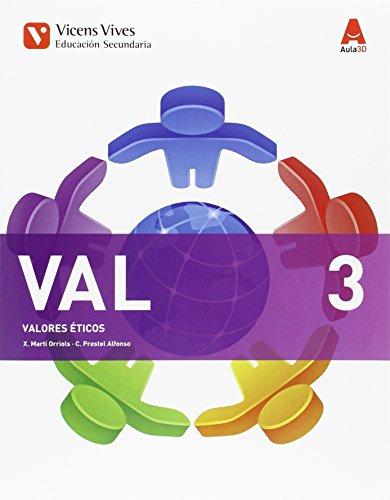 VAL 3 (VALORES ETICOS ESO) AULA 3D: 000001 - 9788468230474