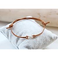 Lederarmband Herren Infinity silber Freundschaftsarmband Unendlichkeitszeichen Bracelet Armband braun oder schwarz
