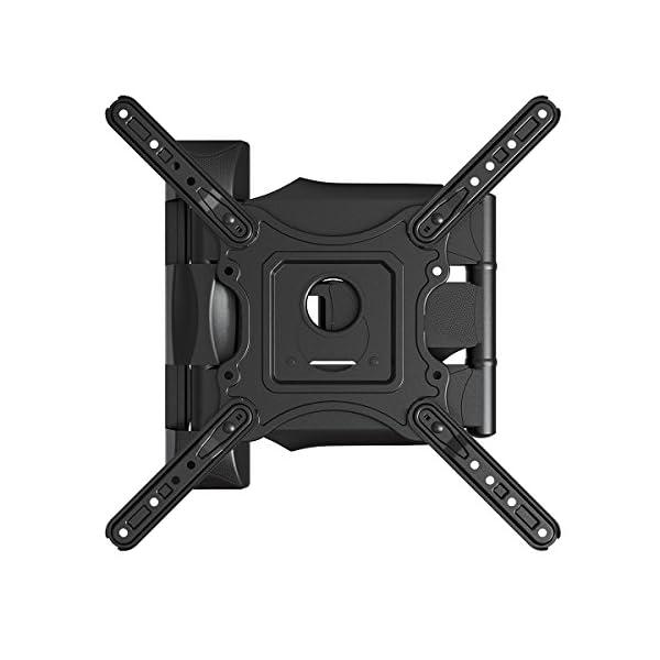 Invision-Support-Murale-TV-Orientable-et-Inclinable-pour-Les-crans-4K-UHD-LCD-Plasma-et-Incurvs-de-24--55-Pouces-61-140cm-Max-VESA-400x400mm-avec-Cble-HDMI-18m-HDTV-E