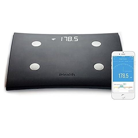 iHealth HS5 BMI Pèse-personne avec Wi-Fi Bluetooth