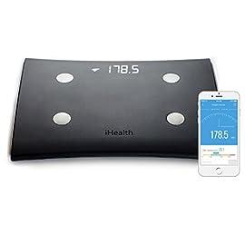 iHealth HS5 Bilancia con analisi parametri e BMI, 9 Parametri - WIFI