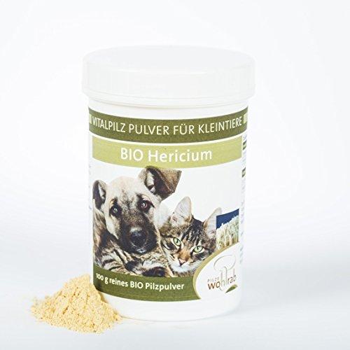 Hericium Vitalpilz Pulver Bio für Haustiere und Kleintiere - 100g