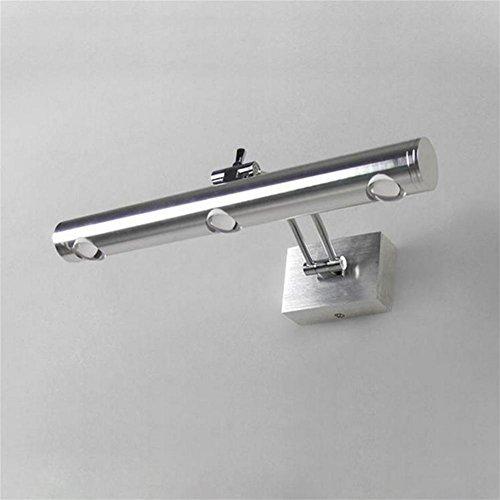 OOFAY LIGHT® Geführte Leselichtlichter, Spiegel-Leuchten gerichtete justierbare Nachttisch-Lampen-Kinderschlafzimmer, die Aluminium 85-265V beleuchten