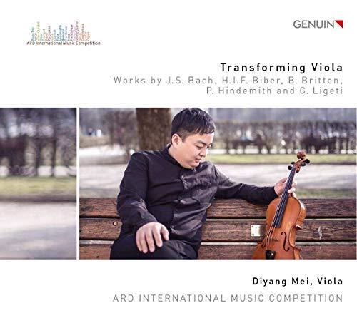 Transforming Viola - Werke für Viola solo von Bach, Ligeti und Hindemith u.a.