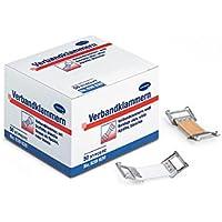 HARTMANN Verbandklammern weiß latexfrei, 50 Stück preisvergleich bei billige-tabletten.eu