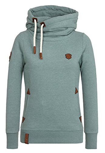 Naketano Female Hoody Darth X Green Melange