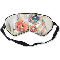 Sleep Eye Mask Baby Pig Rose Lightweight Soft Blindfold Adjustable Head Strap Eyeshade Travel Eyepatch preisvergleich bei billige-tabletten.eu