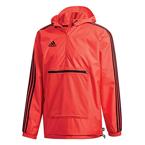 adidas Herren Tango Windbreaker Jacke, Hi-Res Red, M - Adidas Windbreaker