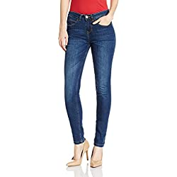 Jealous 21 Women's Slim Jeans (JY2047_Blue_26)