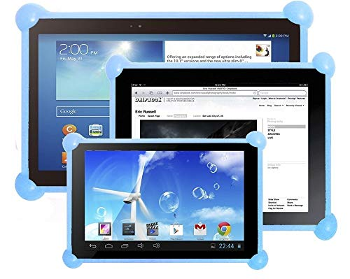 custodie per tablet Color Dreams Custodia in silicone tablet universale. Cover in silicone tablet pc compatibile con tablets pc di qualsiasi dimensione e marca. Il custodia ideale per bambini o adu tablets. Lo stesso custodia per tutte le dimensioni di tablet PC da 7 ""