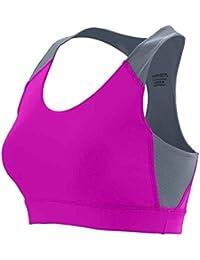 Comparador de precios Augusta Sportswear Girls' All Sport Sports Bra L Power Pink/Graphite - precios baratos