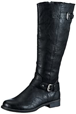 Marco Tozzi 2-2-25500-21, Damen Stiefel, Schwarz (Black Antic 002), EU 36