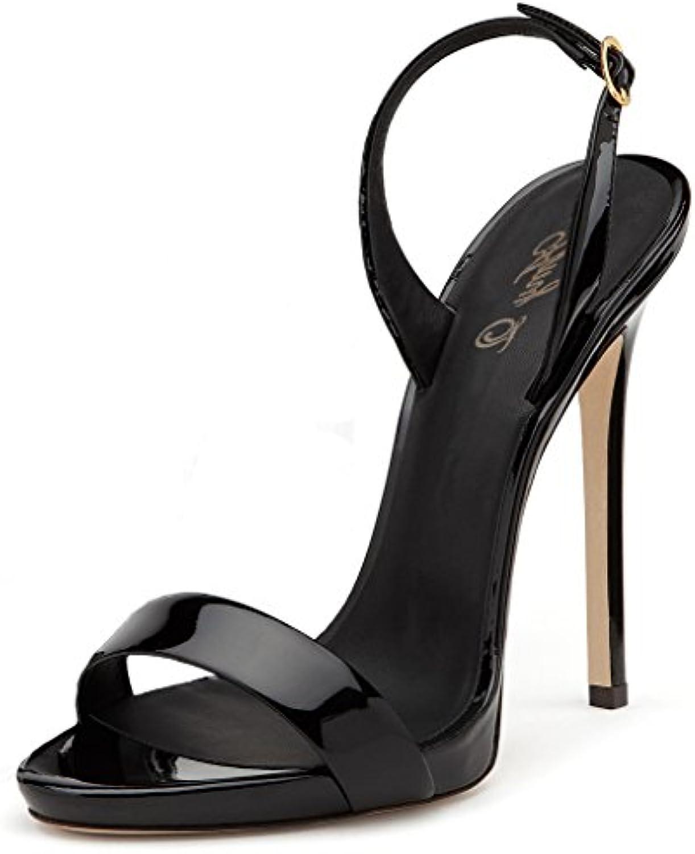 Amy Q - Scarpe con Cinturino alla Caviglia Donna | Materiali Accuratamente Selezionati  | Scolaro/Ragazze Scarpa