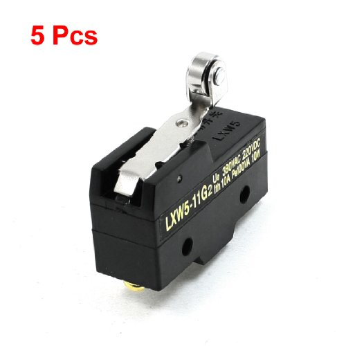 5PCS Kurz Scharnier Roller Lever Momentary Micro Limit Switch LXW5-11G2 - Limit Switch, Roller