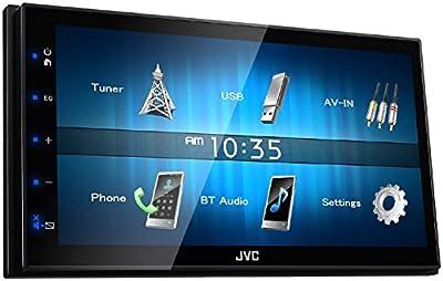 JVC KW M24BT WVGA Digital Media Receiver with Bluetooth Module 17.3inch Black
