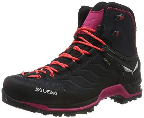 Salewa Damen WS MTN Trainer MID GTX Trekking-& Wanderstiefel, Grau (Asphalt/Sangria 989), 39 EU