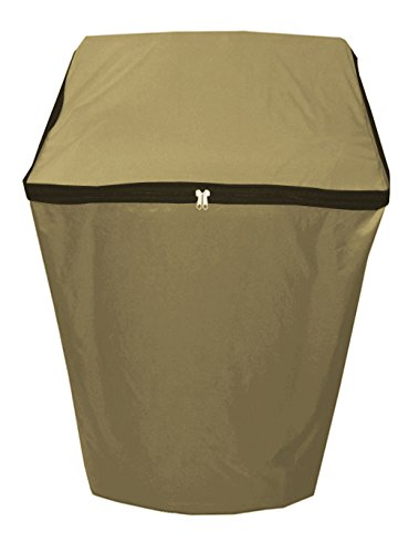 Dream Care Beige Waterproof & Dustproof washing machine Cover For...