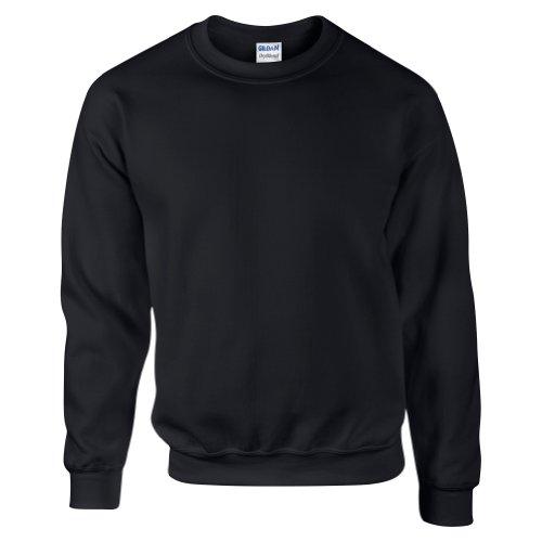 Gildan DryBlend Sweatshirt / Pullover mit Rundhalsausschnitt (L) (Schwarz) -