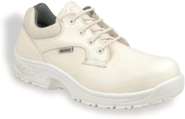 Cofra Remus S2 Src pares de zapatos de seguridad de tamaño 43 Color Blanco