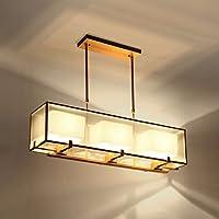 Wandun Nuovo Lampadario Cinese Soggiorno Moderno Minimalista Per Cucire Lampada,A