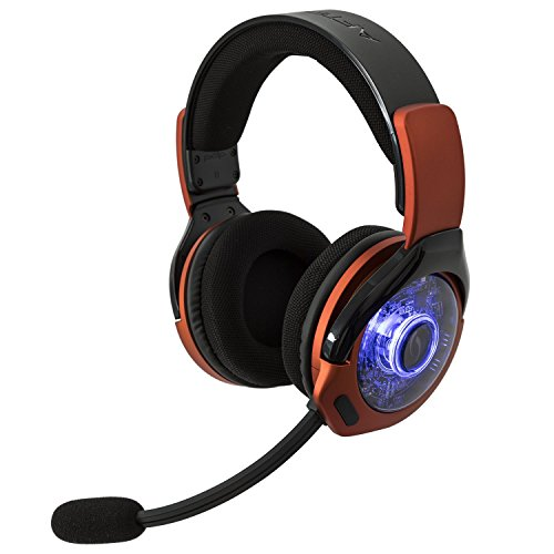 PDP Xbox One Afterglow AG 9+ Prismatic True Wireless Gaming Headset 048-056-NA-OR, Burnt Orange