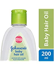 Johnson's Baby Hair Oil 200ml
