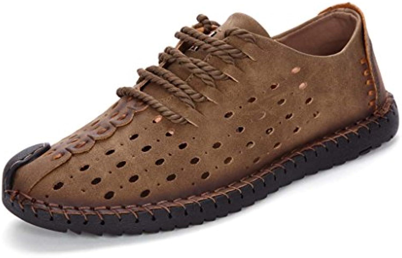 ZXCV Outdoor Schuhe Freizeitschuhe Outdoor Reisen Bergschuhe Mode Schuhe Herrenschuhe ( Farbe : H   größe : 41 )
