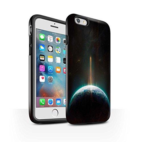 Offiziell Chris Cold Hülle / Glanz Harten Stoßfest Case für Apple iPhone 6+/Plus 5.5 / Entfernten Stern Muster / Galaktische Welt Kollektion Phönix/Raumzeit