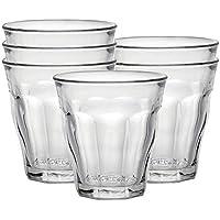 Duralex Picardie vaso, pack de 6 , Vidrio Transparente