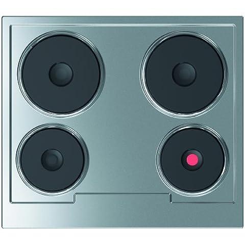 Gorenje ED 60 EX - Cocina eléctrica (58 cm, 5500 W), acero