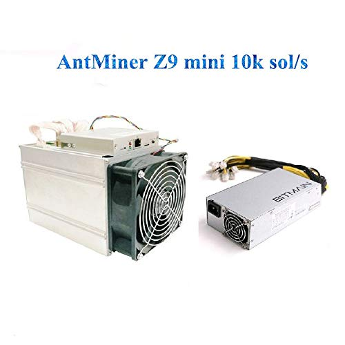 Antminer Bitmain Z9 Mini 10k Sol/s Zcash ASIC Miner Include Bitman APW7 PSU