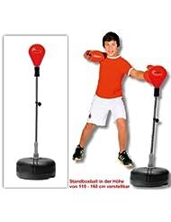 Box Ball–Support professionnel, en cuir, résistants (PU) Appareil Sport Idéal pour les enfants et les jeunes de mousse a partir de 6ans
