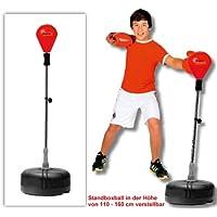 Winsport - Bola de pie para práctica de boxeo (piel sintética)