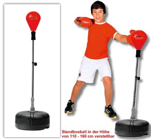 Box Ball-Support professionnel, en cuir, résistants (PU) Appareil Sport Idéal pour les enfants et les jeunes de mousse a partir de 6ans