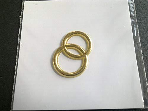 Wachs Dekoration Gold Brilliant, 30mm ()