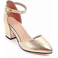RFF-Women's Shoes Pearl Tassel, Baotou Big Size Women's Chaussures Sandales Beige,41,