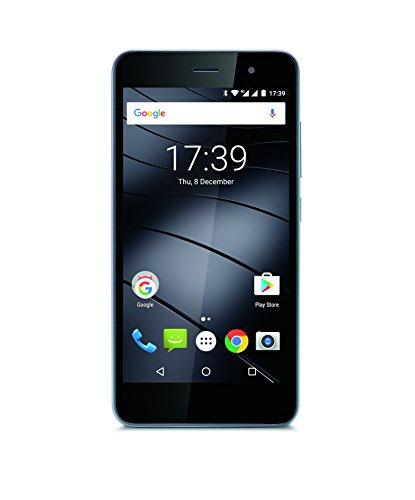 Gigaset GS160 Smartphone (5 Zoll, 1GB RAM / 16GB, Android, Dual-SIM) schwarz