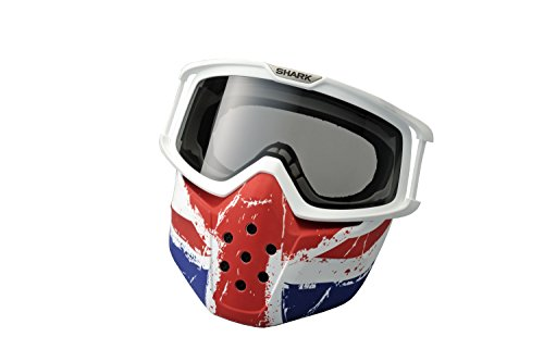 Shark Union Jack brillen & maske