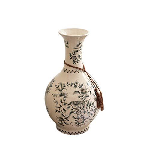 Vasen, Creative Crack Glaze Applique Ceramic Vase Floor Vase Home-Zubehör