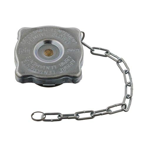 febi bilstein 06571 Kühlerverschlussdeckel / Kühlerdeckel, Gummi / Stahlblech, 1 Stück (Motor Ponton)