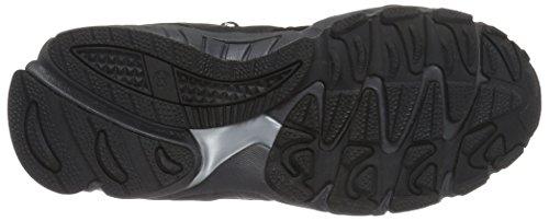 Dockers by Gerli 37rc703-637120, Chaussures de Trekking et Randonn&EacuteE Mixte Enfant Noir - Schwarz (Schwarz/Grau 120)