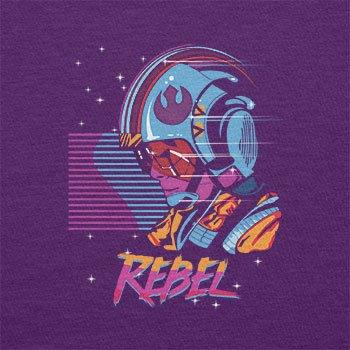 TEXLAB - Rebel Wave - Herren T-Shirt Violett