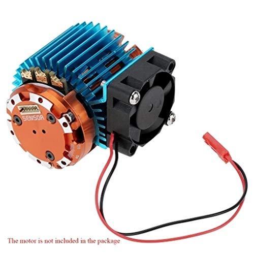 MMLC 540 550 Elektro Motor Wärmeschutz Abdeckung Kühlkörper Mit Lüfter (Blau) -