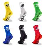 SB Sports ® Anti Rutsch Fußball Socken Sportsocken | rutschfest & elastisch | Herren & Damen | One Size EU 38-46 | Grip Fußballsocken | Tape Fussball Socken |