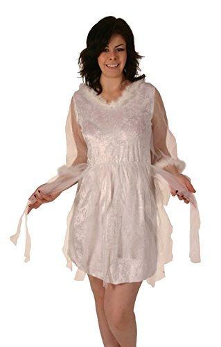 Christmas Fancy Dress Kostüm Fee Prinzessin Kleid -
