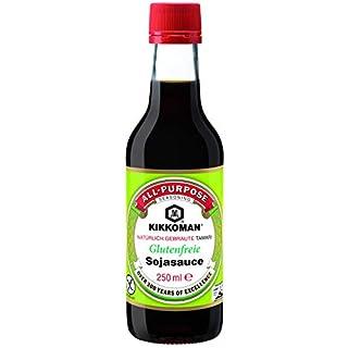 KIKKOMAN Glutenfreie Sojasauce, 6er Pack (6 x 250 ml)