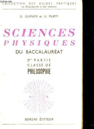 Sciences physiques du baccalaureat
