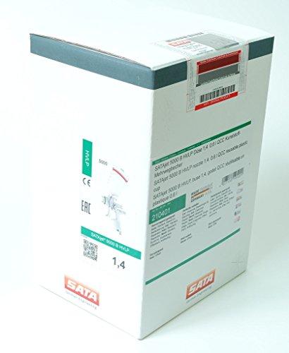 Preisvergleich Produktbild SATAjet 5000B HVLP Lampe 1,4Becher Wiederverwendbar Kunststoff mit 0,6l QCC